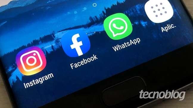 WhatsApp, Instagram e Facebook ficam fora do ar nesta segunda (4)