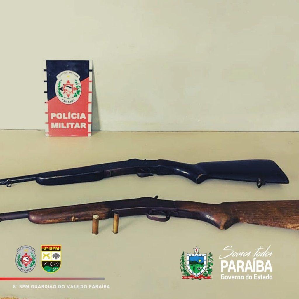 Polícia prende suspeitos de assalto em Picuí e apreende armas de fogo