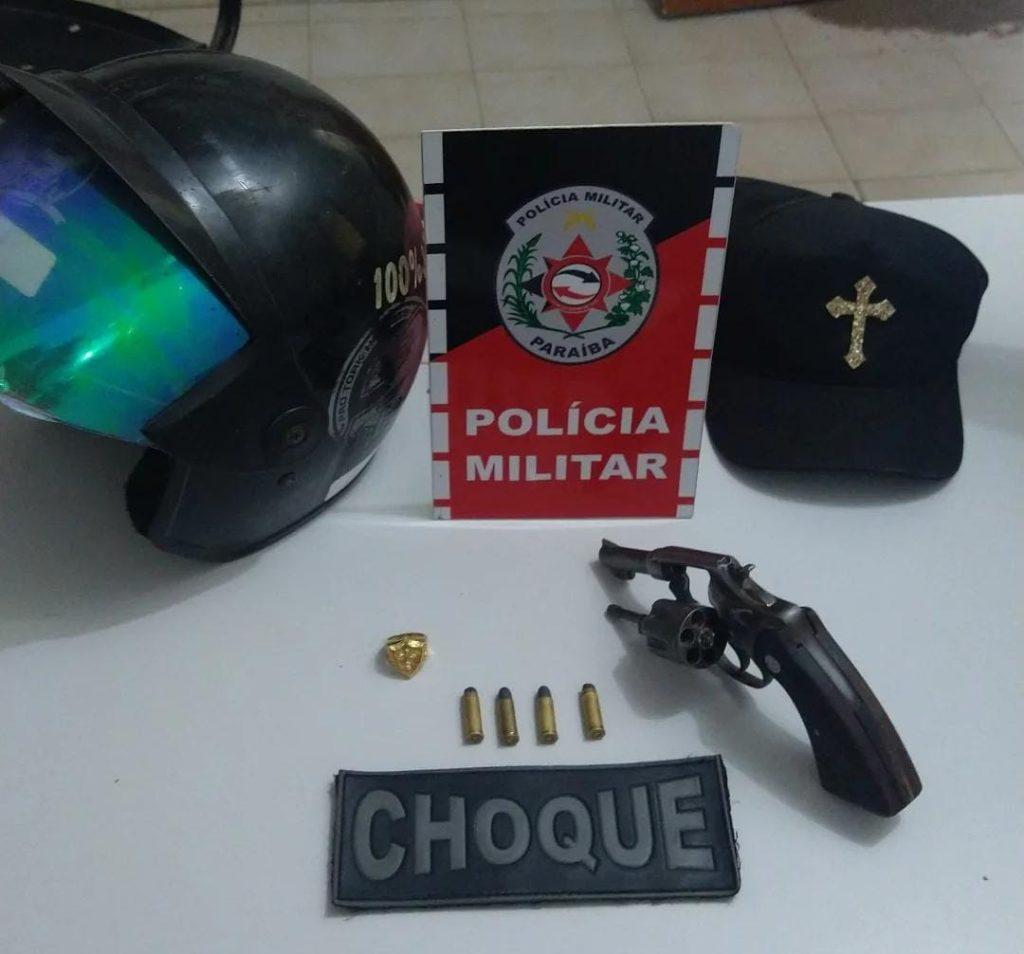 Polícia apreende quatro armas de fogo durante ações em Sousa