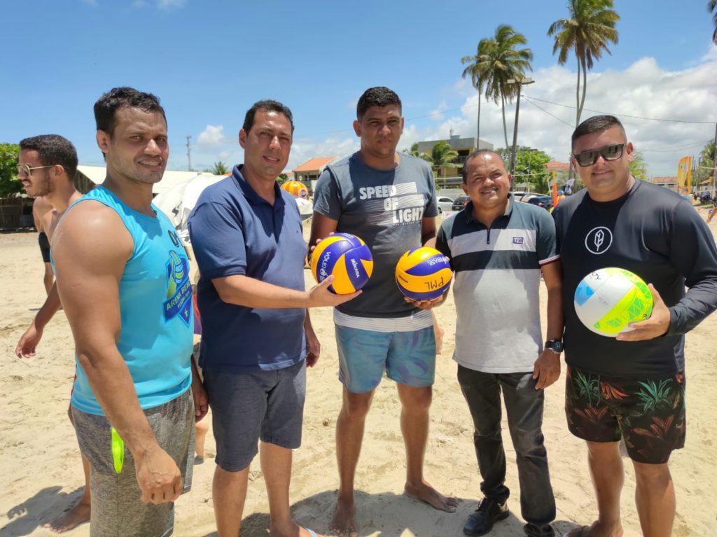 Sucesso em Torneio de Vôlei de Praia credencia Lucena para ser a Capital Estadual do Esporte